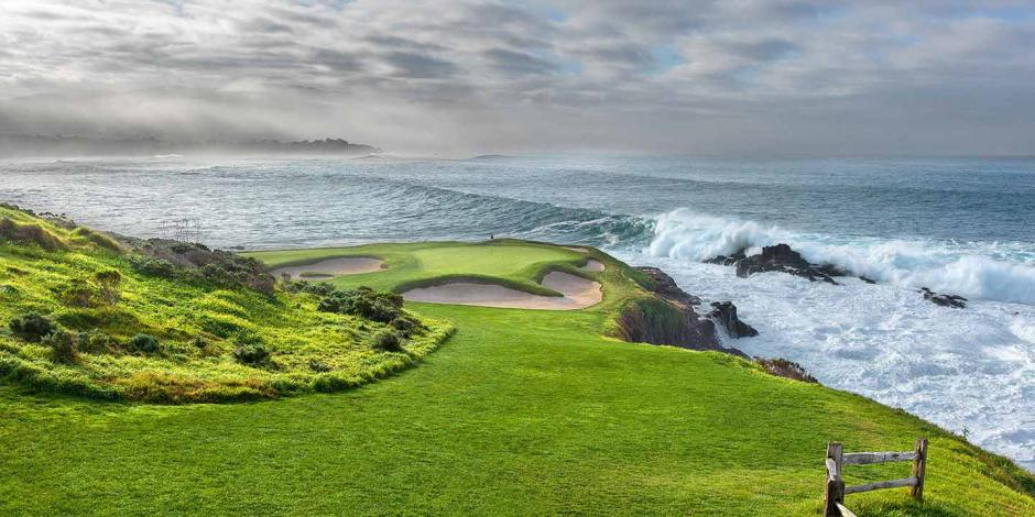 7th hole Pebble Beach